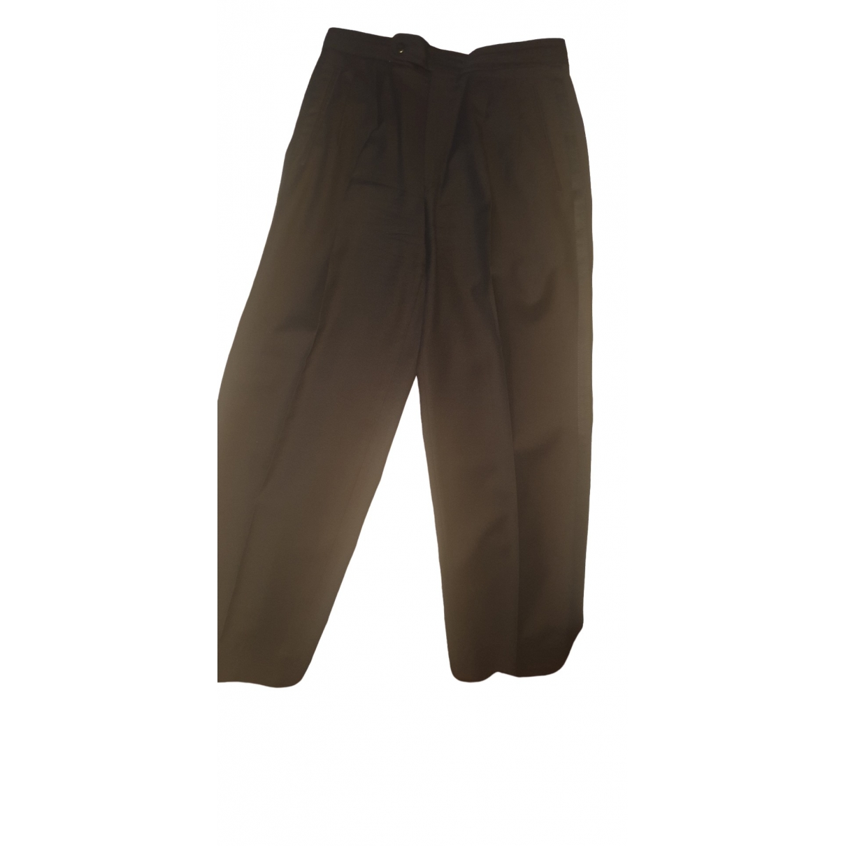 Boss - Pantalon   pour homme en laine - noir