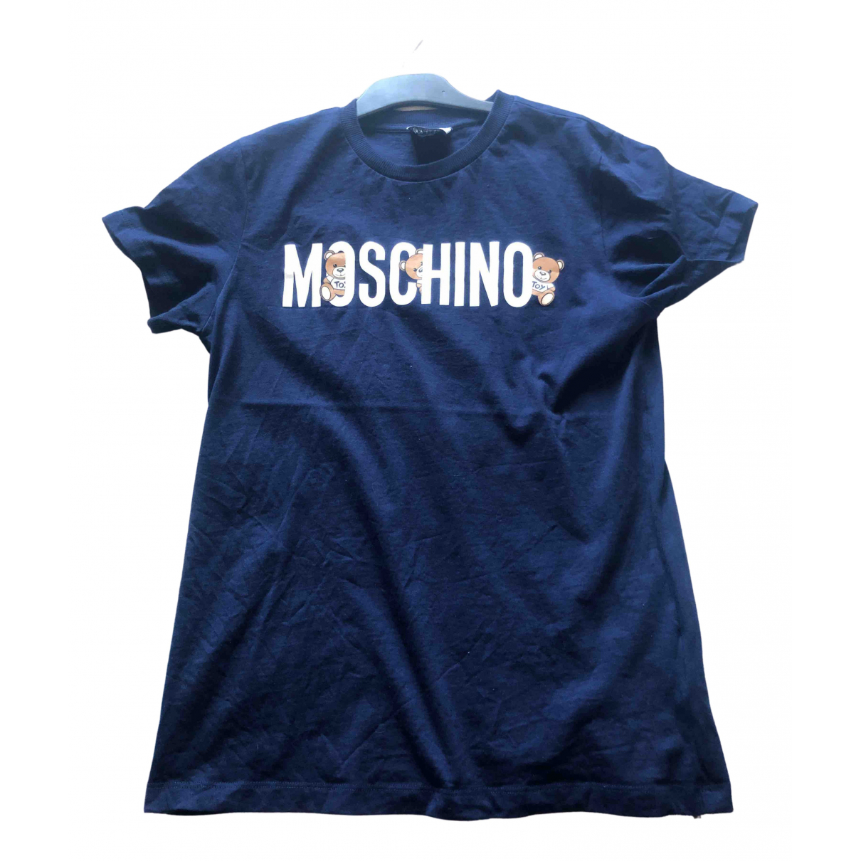 Moschino \N Blue Cotton  top for Kids 14 years - S UK