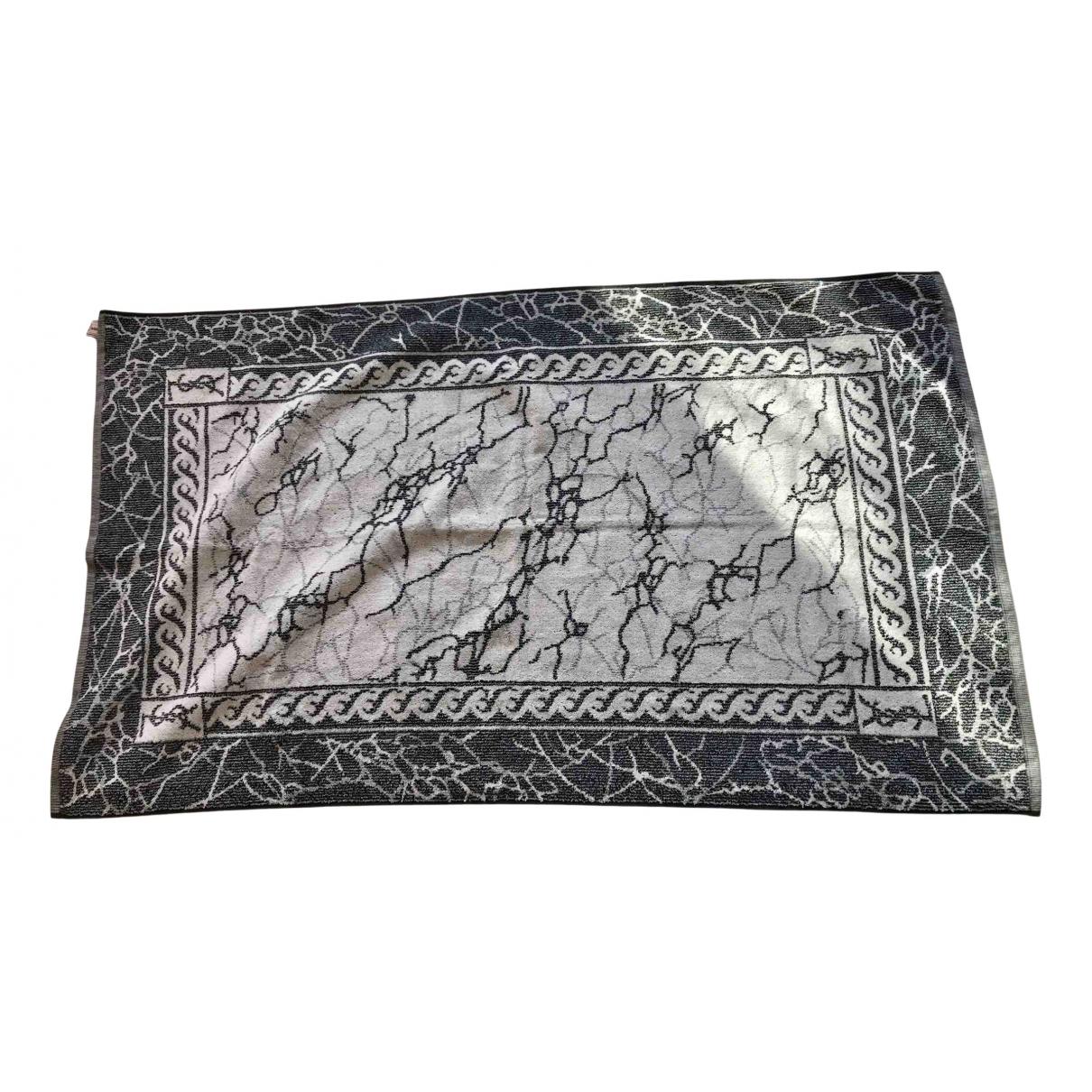 Yves Saint Laurent N Blue Cotton Textiles for Life & Living N