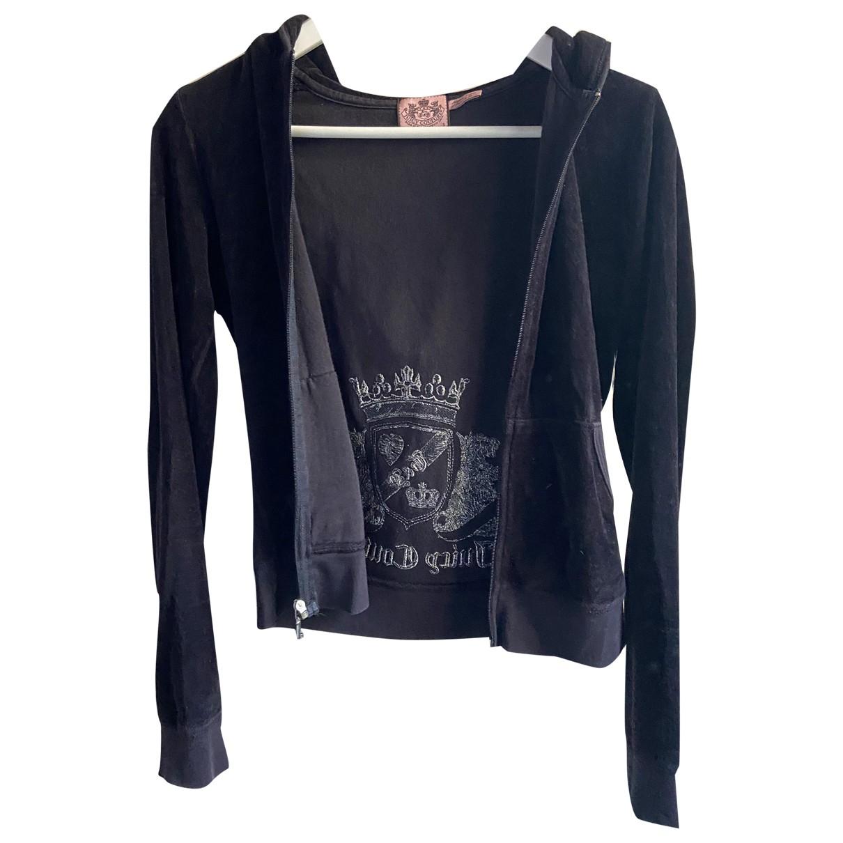 Juicy Couture - Pull   pour femme en coton - noir