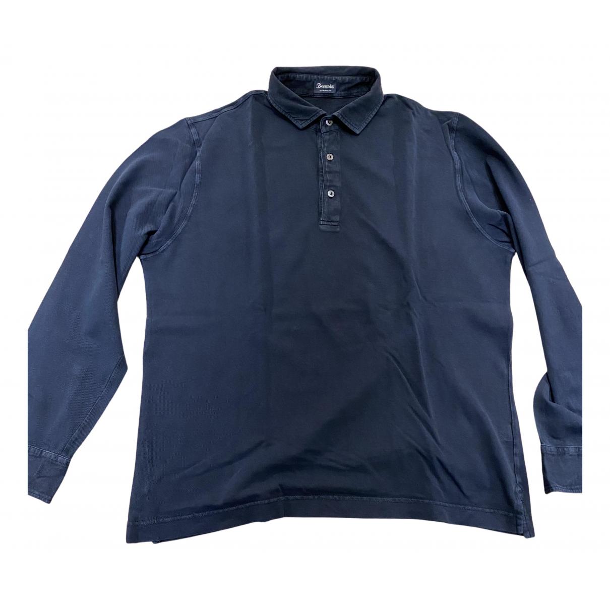 Drumohr \N Poloshirts in  Marine Baumwolle