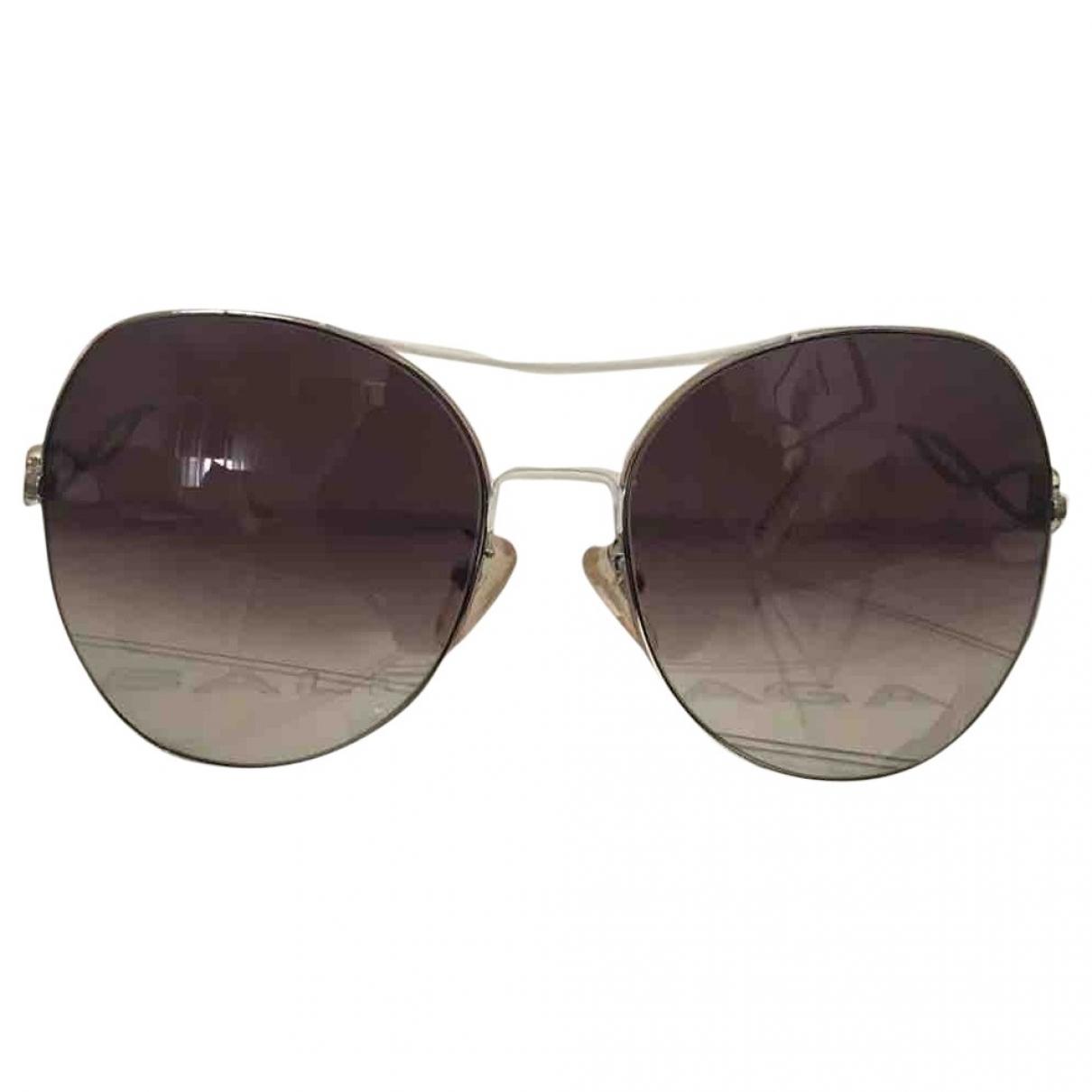 Balenciaga \N Sonnenbrillen in  Metallic Metall