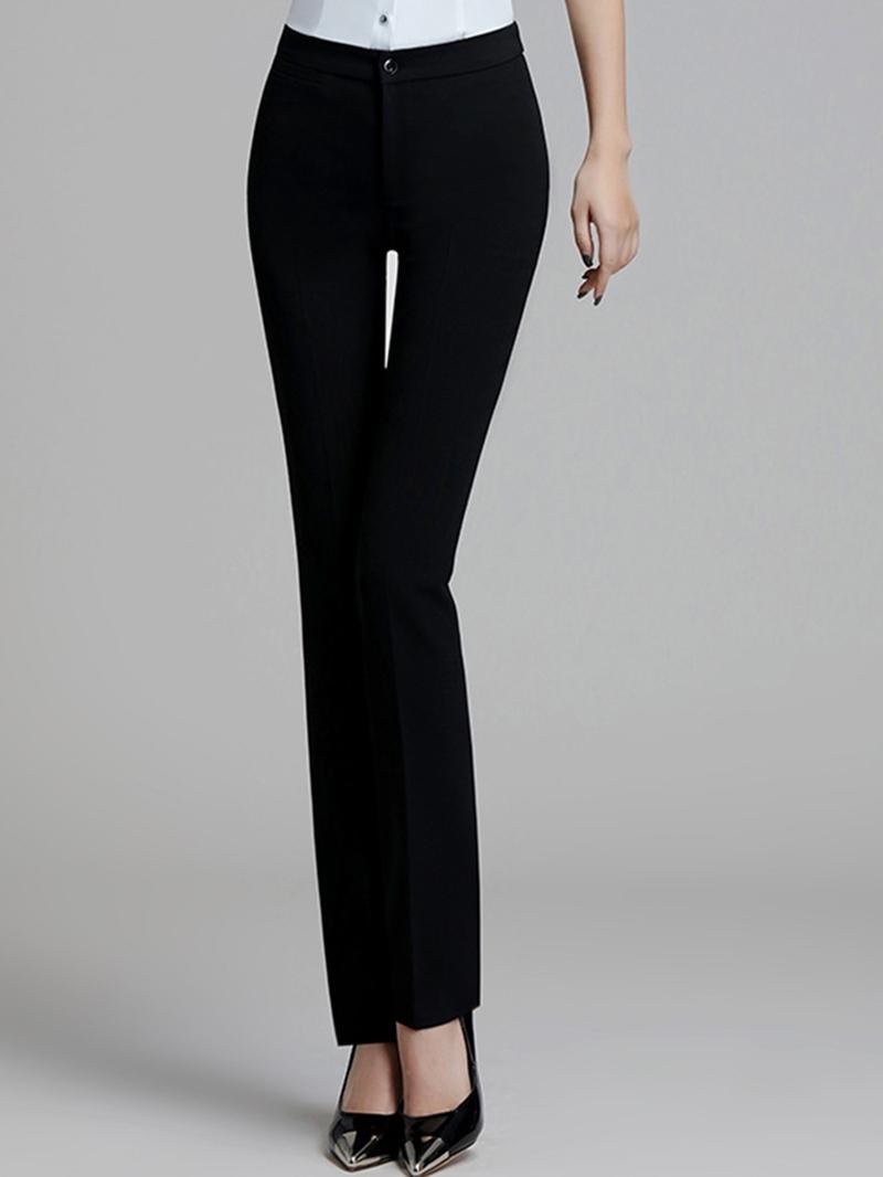 Ericdress Slim Thin High-Waist Women's Dress Pants