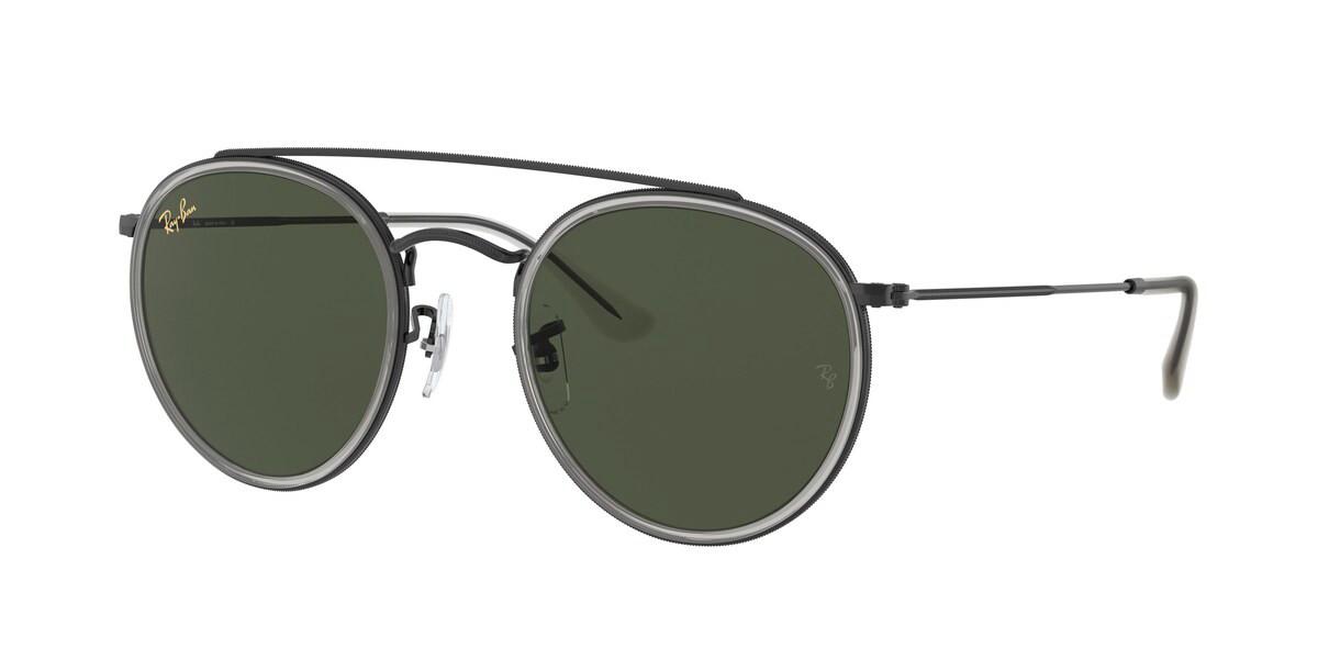 Ray-Ban RB3647N 921231 Men's Sunglasses Black Size 51