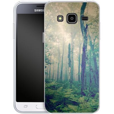 Samsung Galaxy J3 (2016) Silikon Handyhuelle - Walk To The Light von Joy StClaire