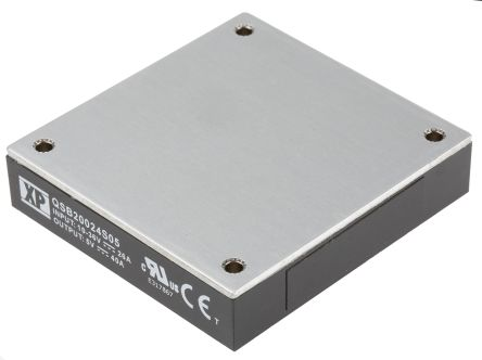 XP Power QSB200 200W Isolated DC-DC Converter PCB Mount, Voltage in 10 → 36 V dc, Voltage out 5V dc