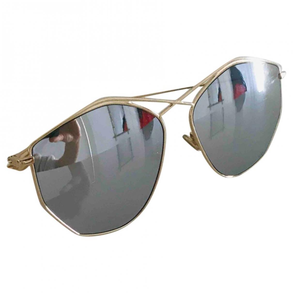 Dior Stellaire 4 Metallic Metal Sunglasses for Women \N