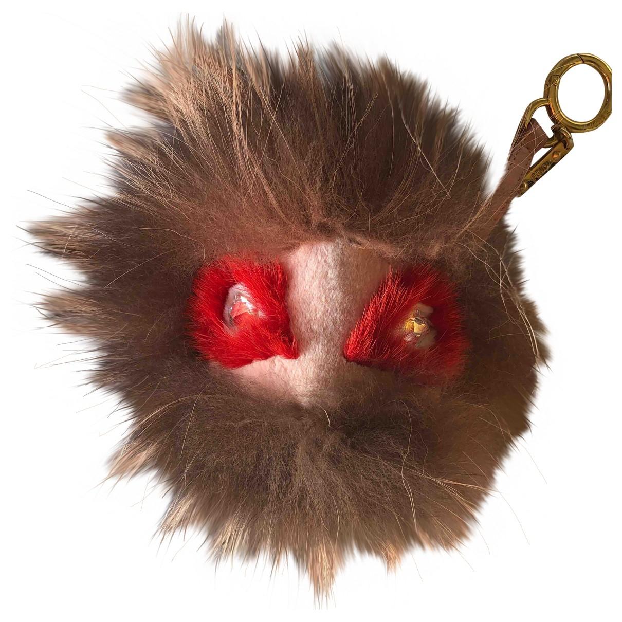 Fendi - Bijoux de sac   pour femme en renard - multicolore