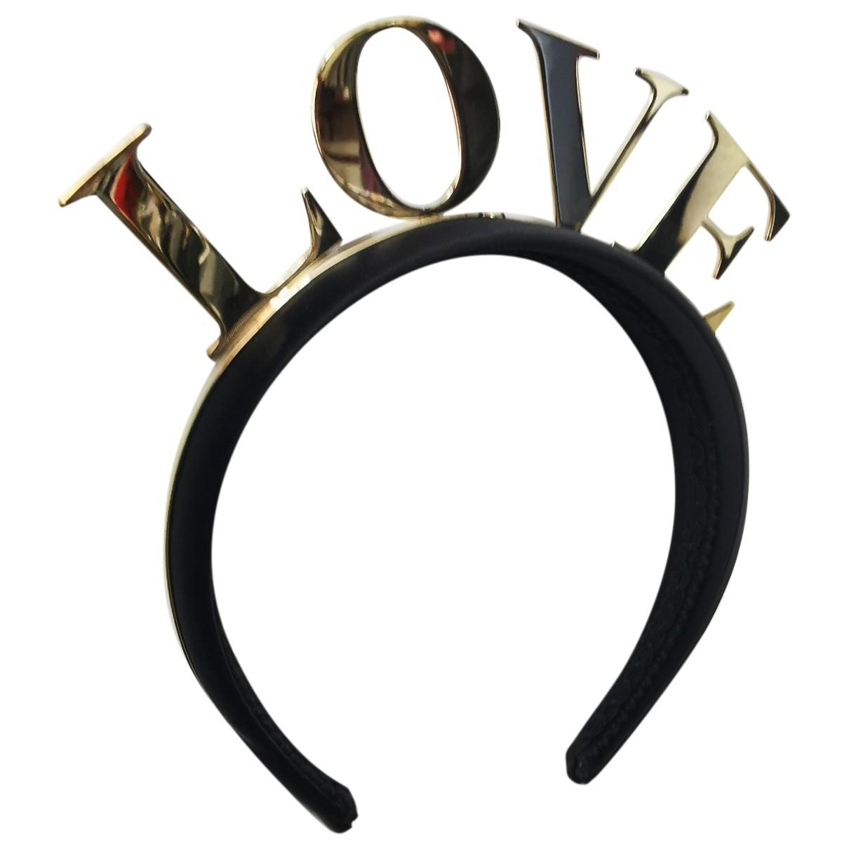 Dolce & Gabbana \N Haarschmuck in  Gold Kunststoff