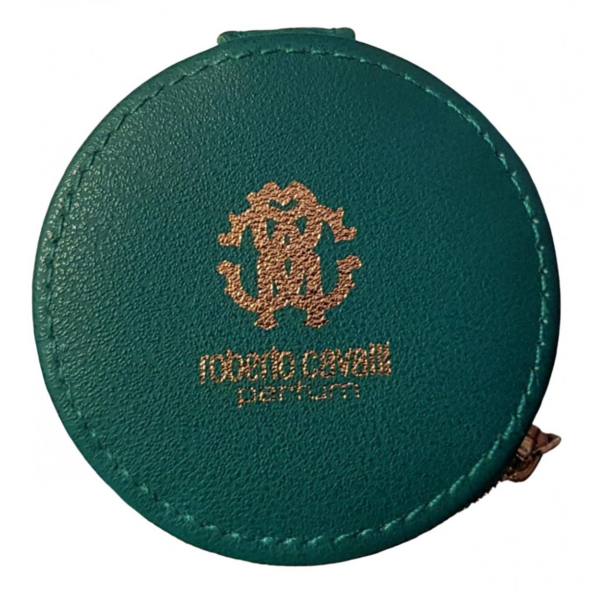 Roberto Cavalli \N Green Leather Travel bag for Women \N