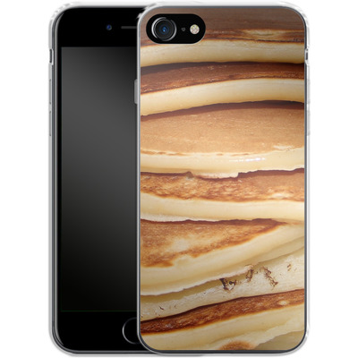 Apple iPhone 7 Silikon Handyhuelle - Pancakes von caseable Designs
