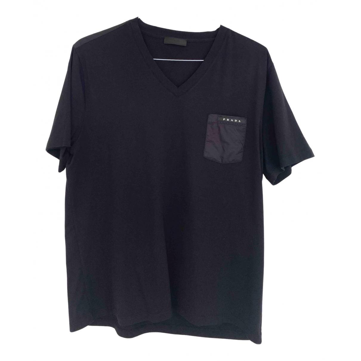 Prada \N T-Shirts in  Schwarz Baumwolle