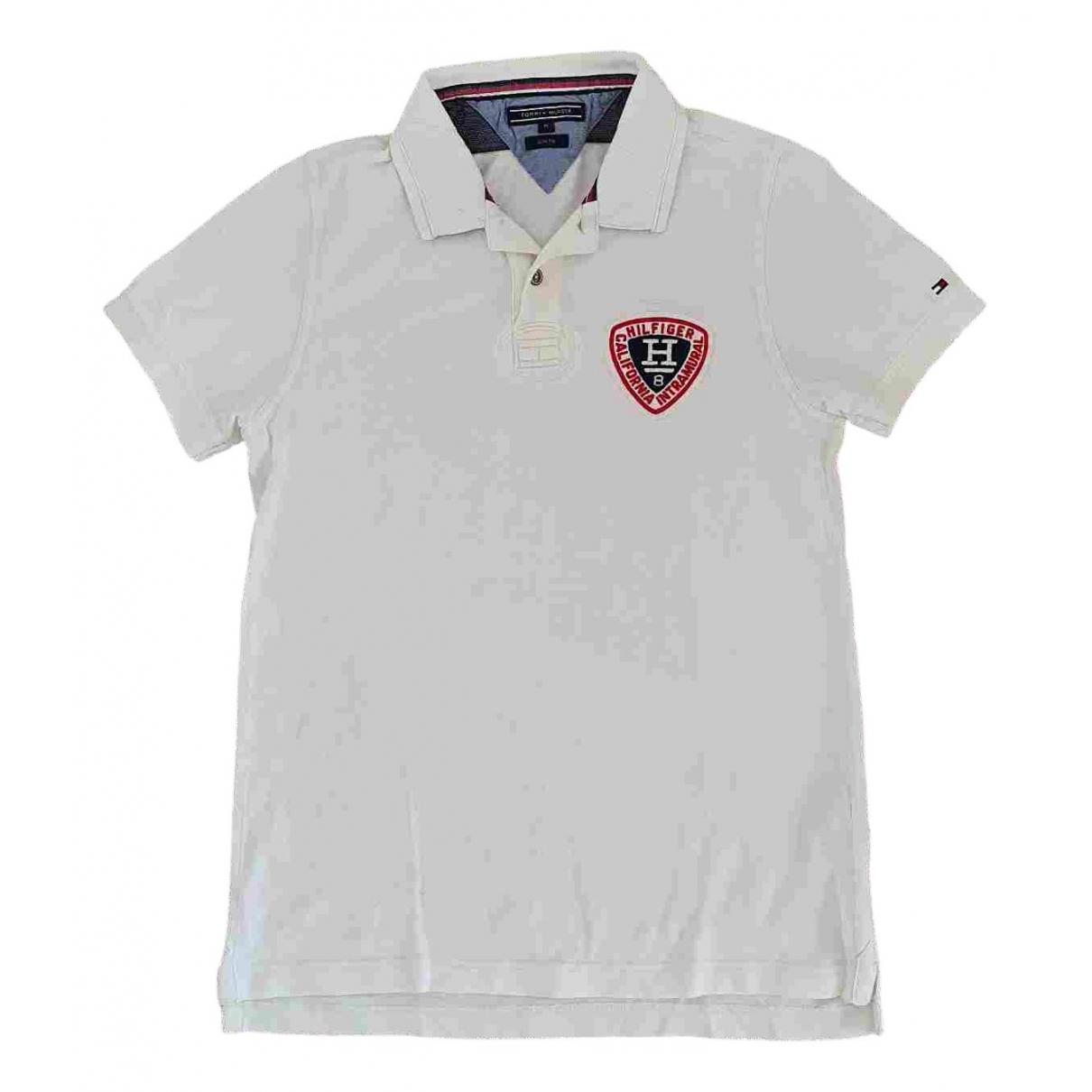 Tommy Hilfiger \N Poloshirts in  Weiss Baumwolle