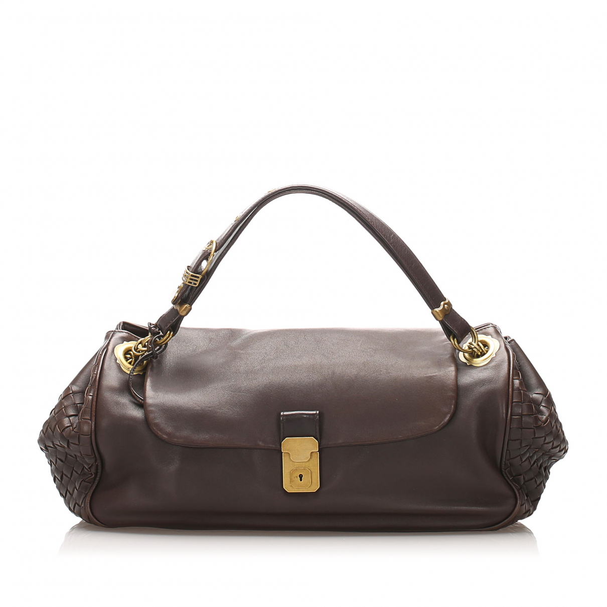 Bottega Veneta N Black Leather handbag for Women N