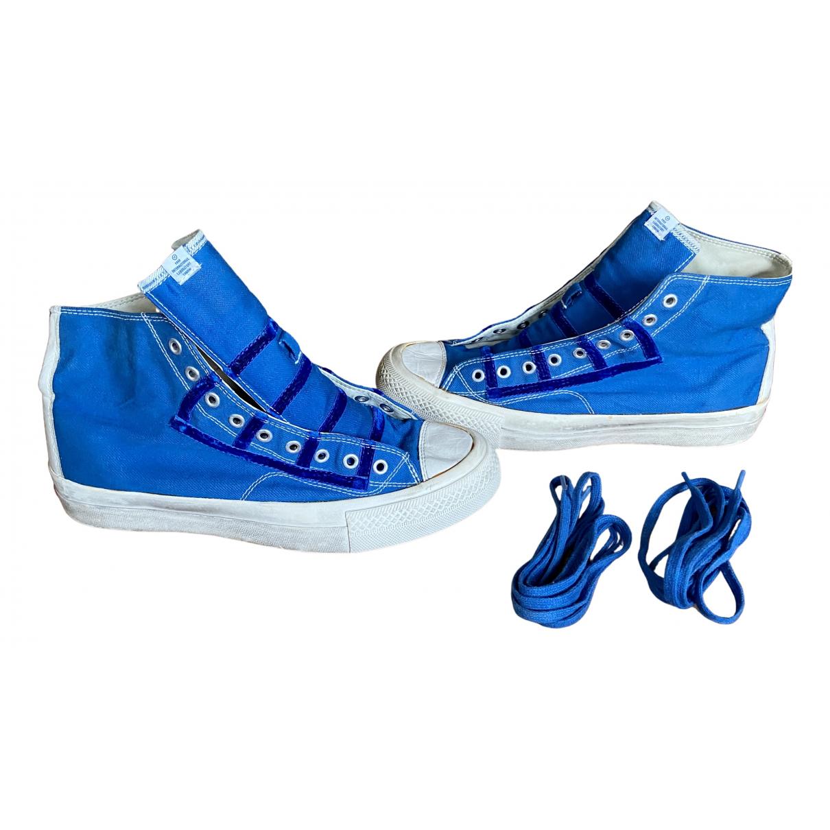 Visvim \N Sneakers in  Blau Leder