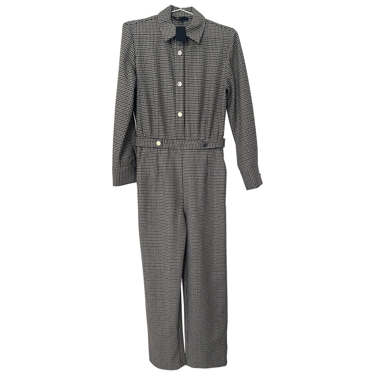 Maje - Combinaison Fall Winter 2019 pour femme en laine - gris