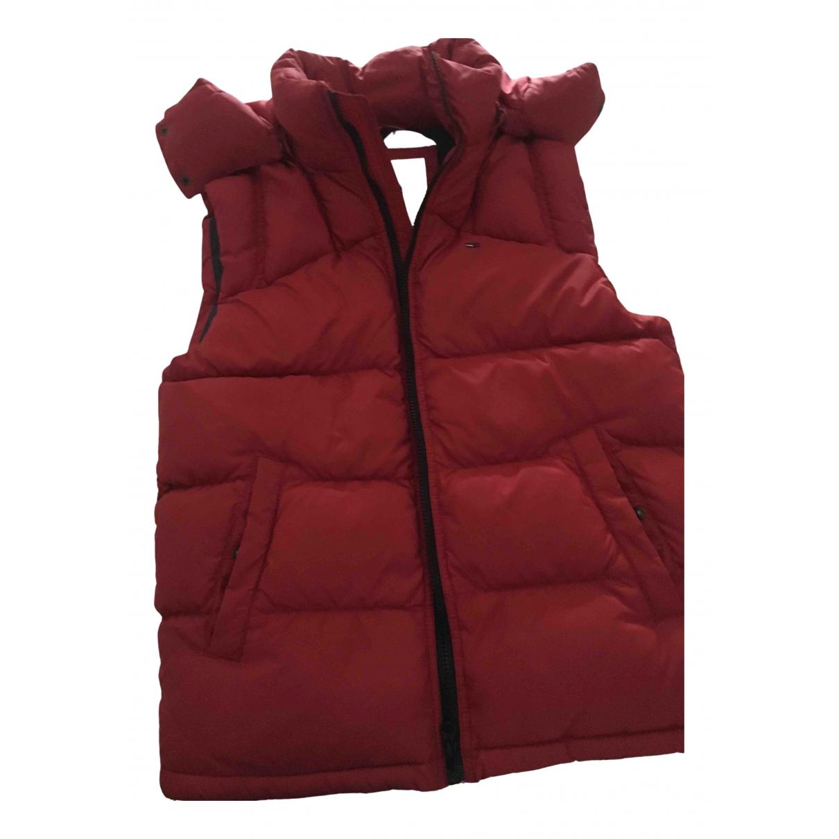 Tommy Hilfiger - Blouson   pour femme en coton - rouge