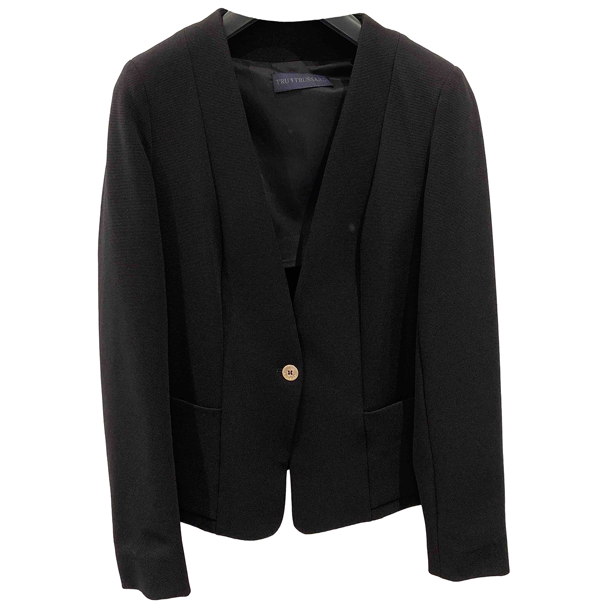 Trussardi N Black jacket for Women 36 FR