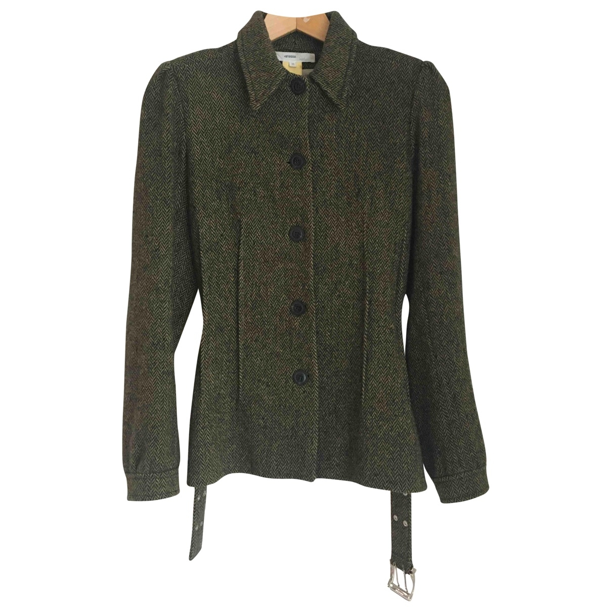 Vanessa Bruno \N Khaki Wool jacket for Women 38 FR