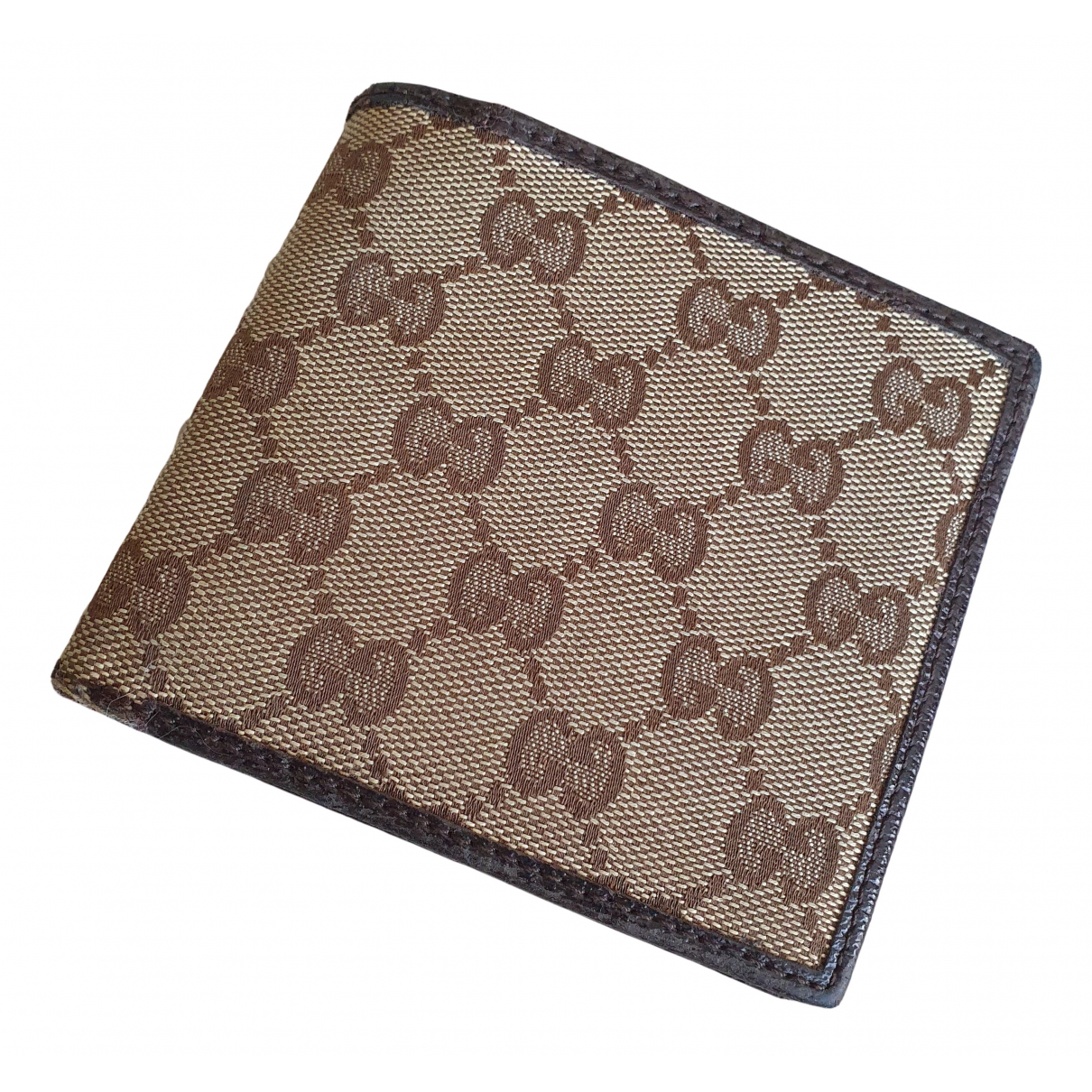 Gucci - Petite maroquinerie   pour homme en toile - beige