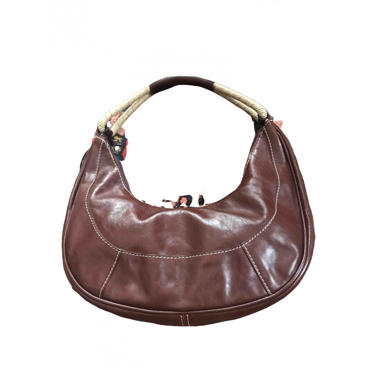Coccinelle \N Handtasche in  Braun Leder