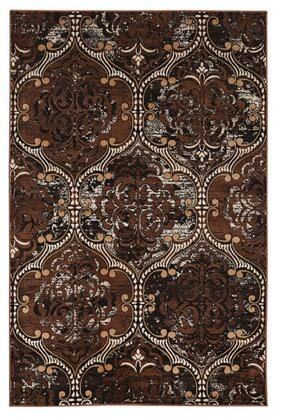 RUGVT3481 8 x 10 Rectangle Area Rug in