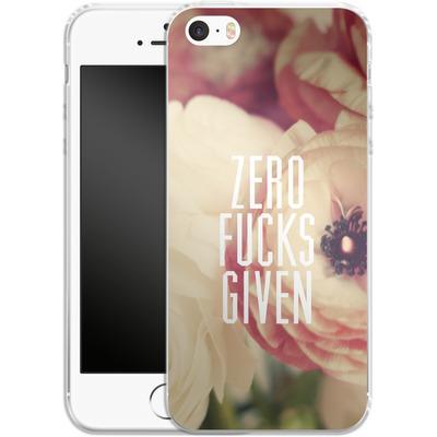 Apple iPhone SE Silikon Handyhuelle - Zero Fcs Given von Statements