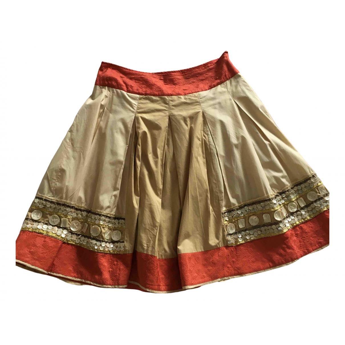 Hoss Intropia - Jupe   pour femme en coton - beige