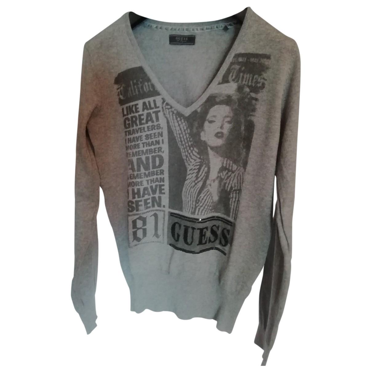 Guess \N Grey Cotton Knitwear for Women M International