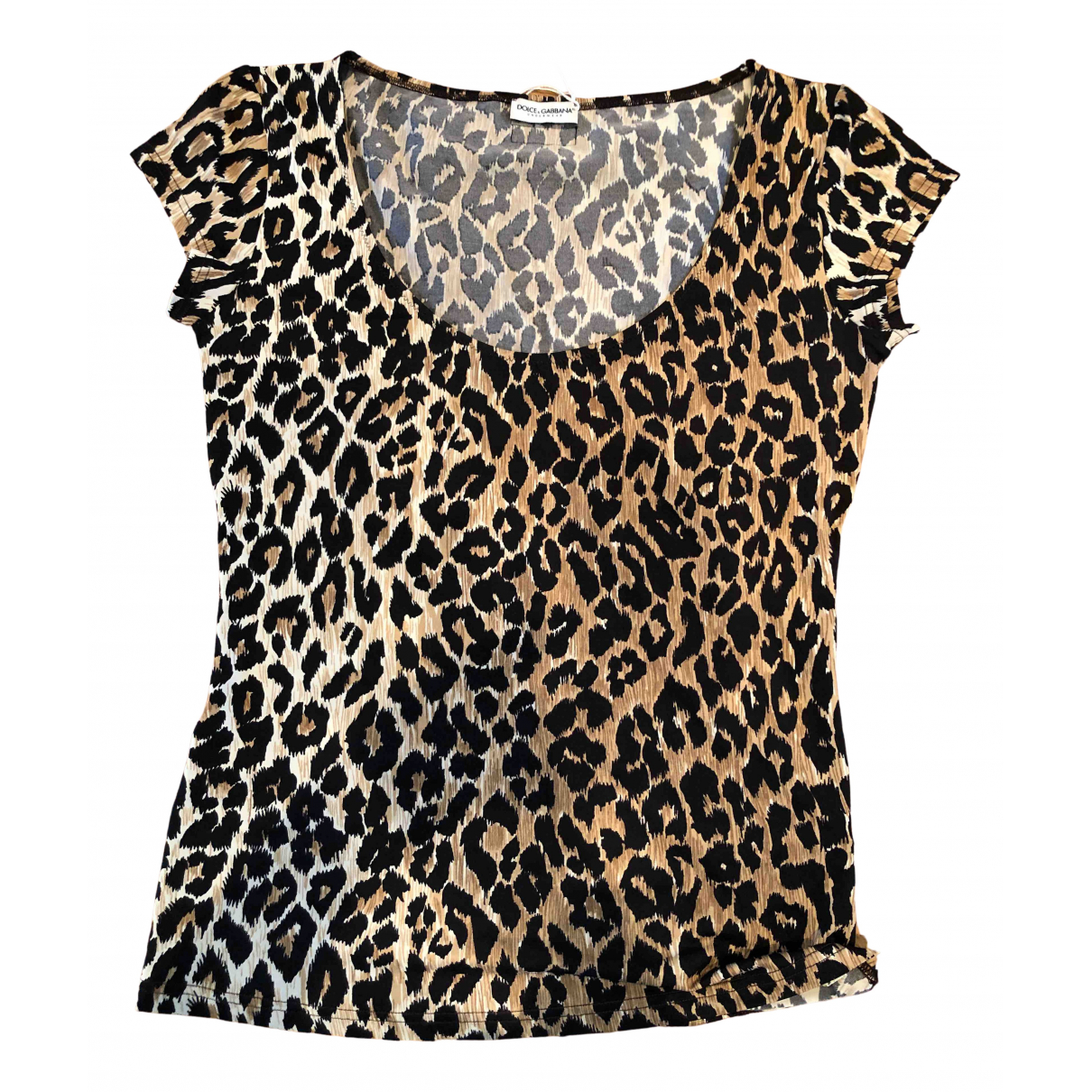 Dolce & Gabbana \N Brown  top for Women 38 FR