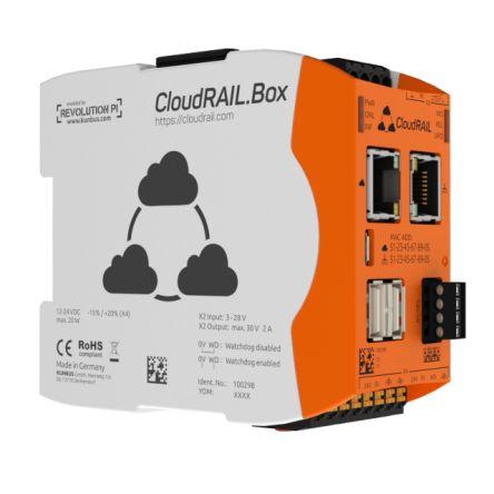 Kunbus CloudRail Box, Industrial Computer, 20W, 1.2 GHz Quad-Core, BCM2837 1.2 GHz, 1 GB (RAM), 4 GB (Flash), 4 Linux