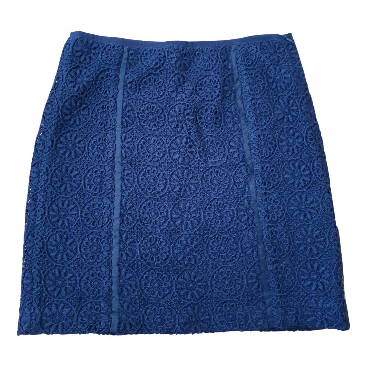 Mini falda de Lana Luisa Cerano