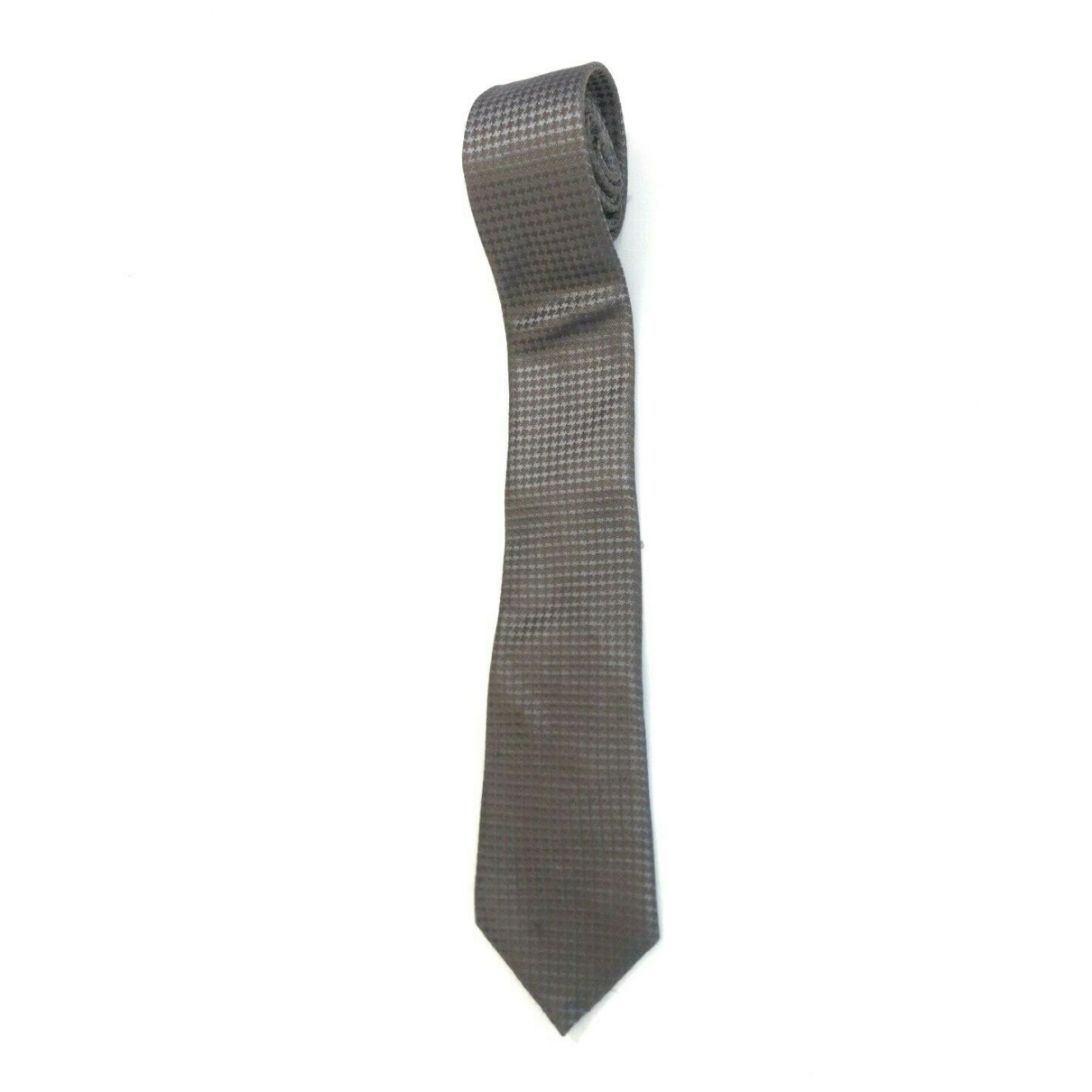 Canali - Cravates   pour homme en soie - gris