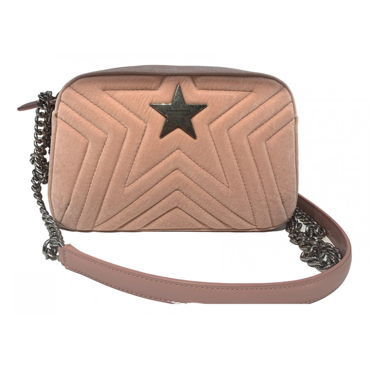 Stella Mccartney - Sac a main Stella Star pour femme en toile - rose