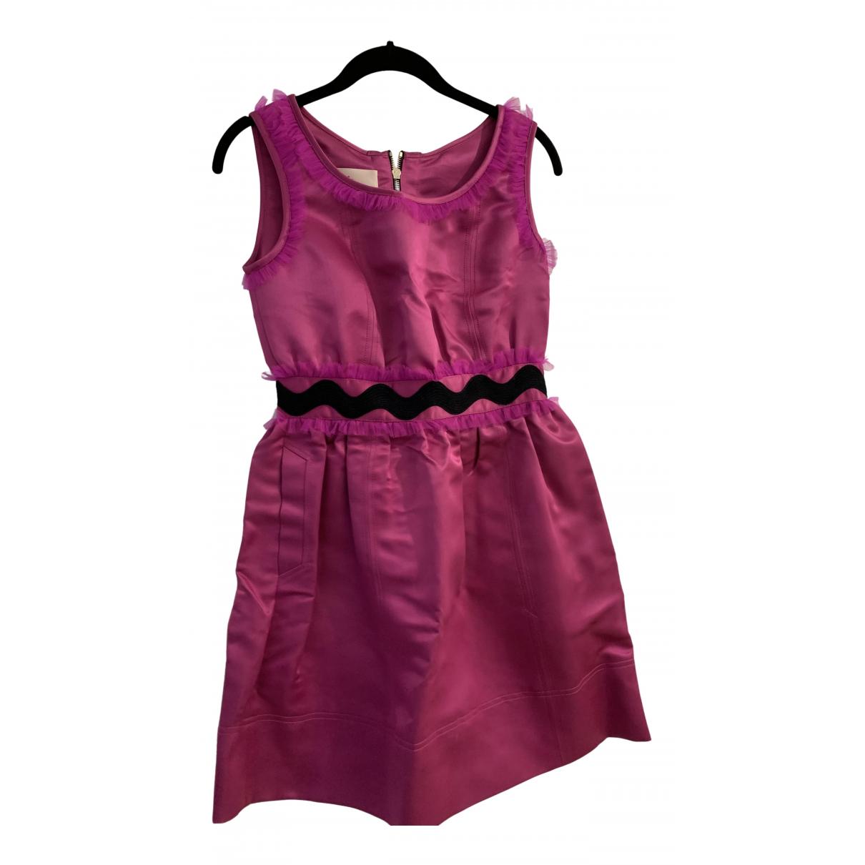 Luella - Robe   pour femme en soie - rose