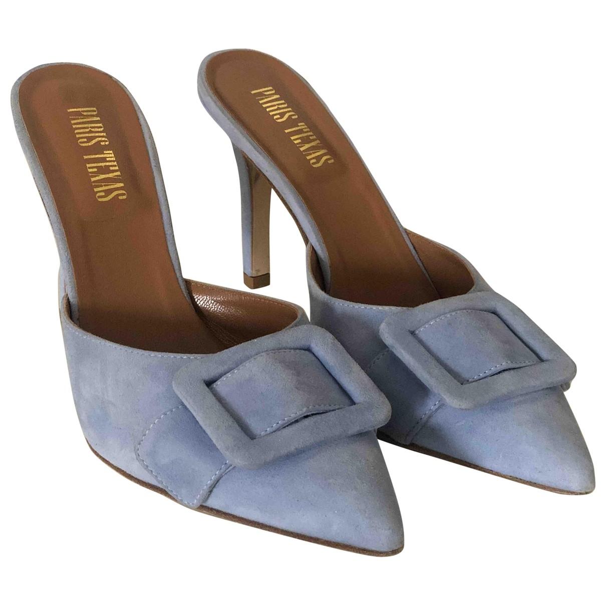 Paris Texas \N Suede Sandals for Women 39 EU