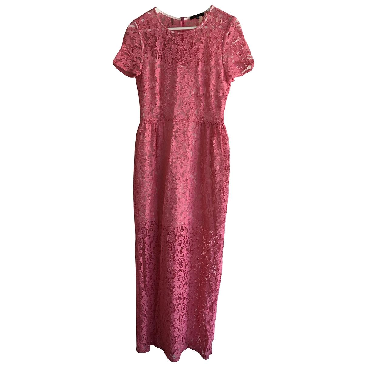 Tara Jarmon \N Kleid in  Rosa Spitze