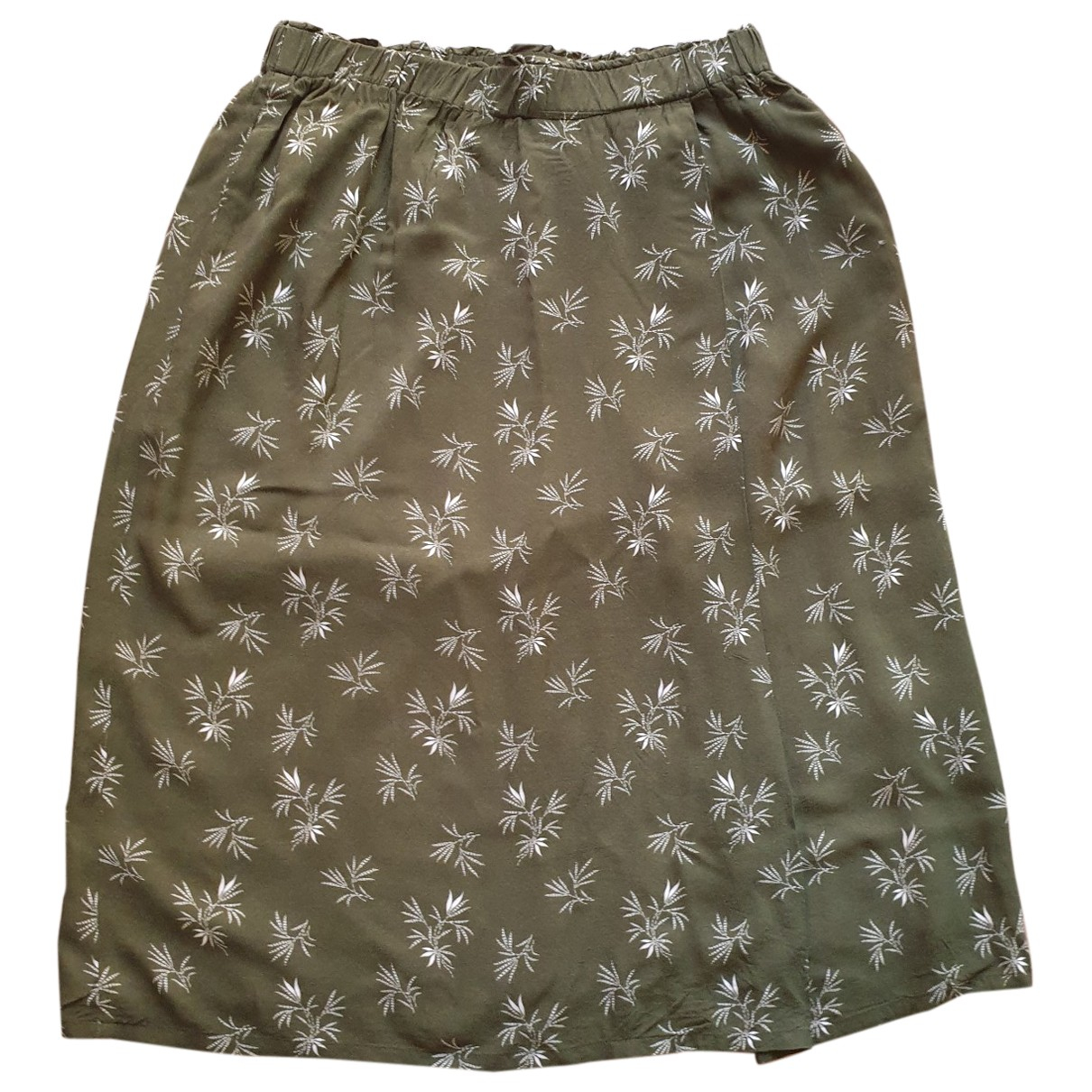 Hartford \N Khaki skirt for Women 36 FR
