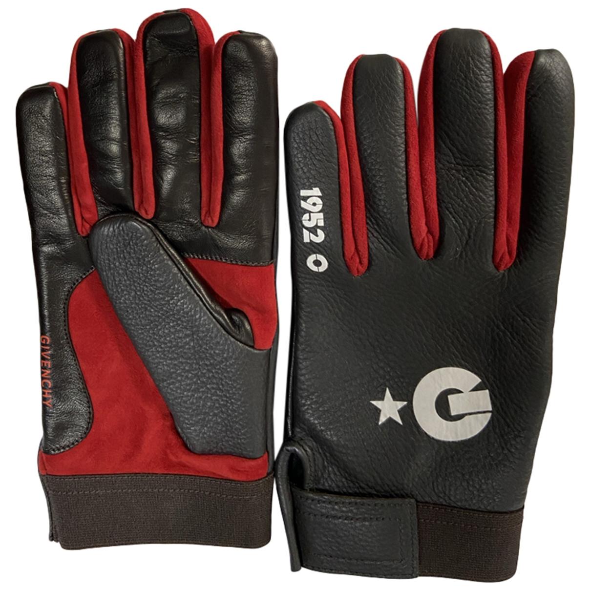 Givenchy \N Handschuhe in  Braun Leder