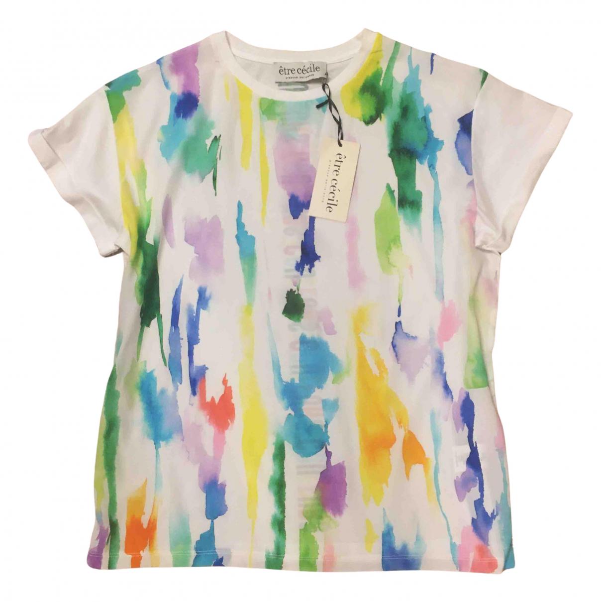 Etre Cecile N Multicolour Silk  top for Women S International