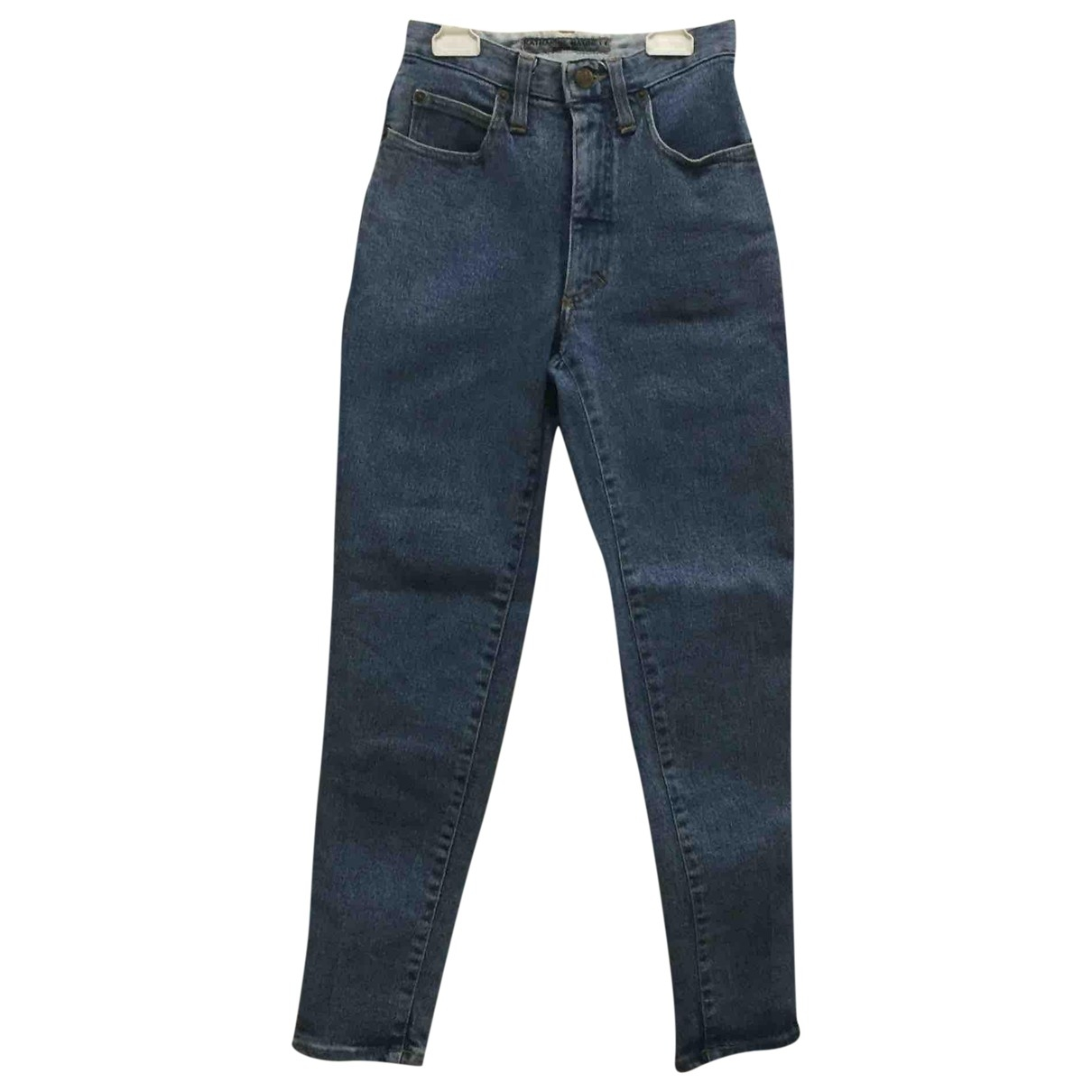 Katharine Hamnett \N Blue Denim - Jeans Trousers for Women S International