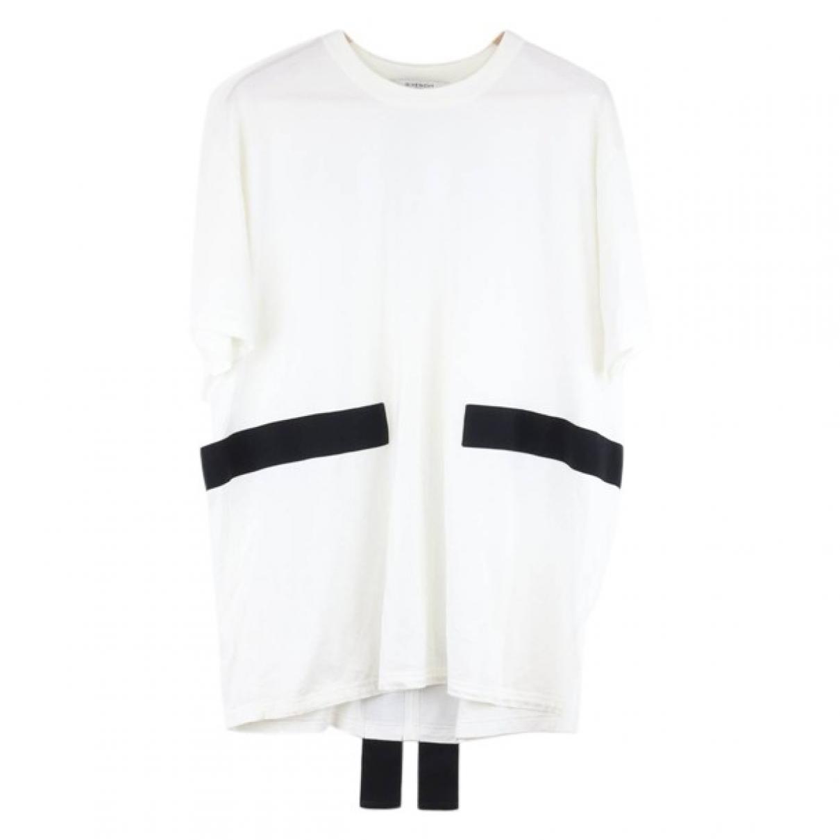 Givenchy - Tee shirts   pour homme en coton - blanc