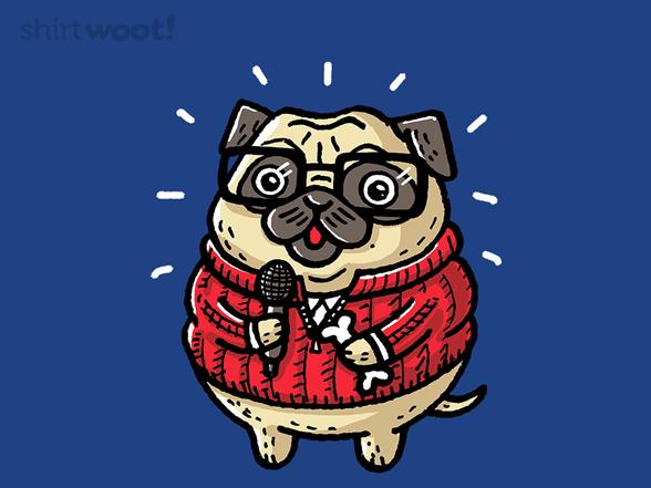 Pug Bone T Shirt