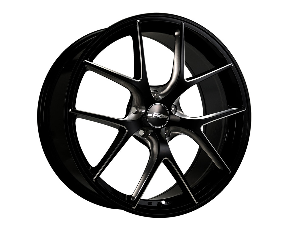 FK Ethos RT51860014 RT-5 Black Ball Cut Machined Wheel 18x10.5 5x114.3 35