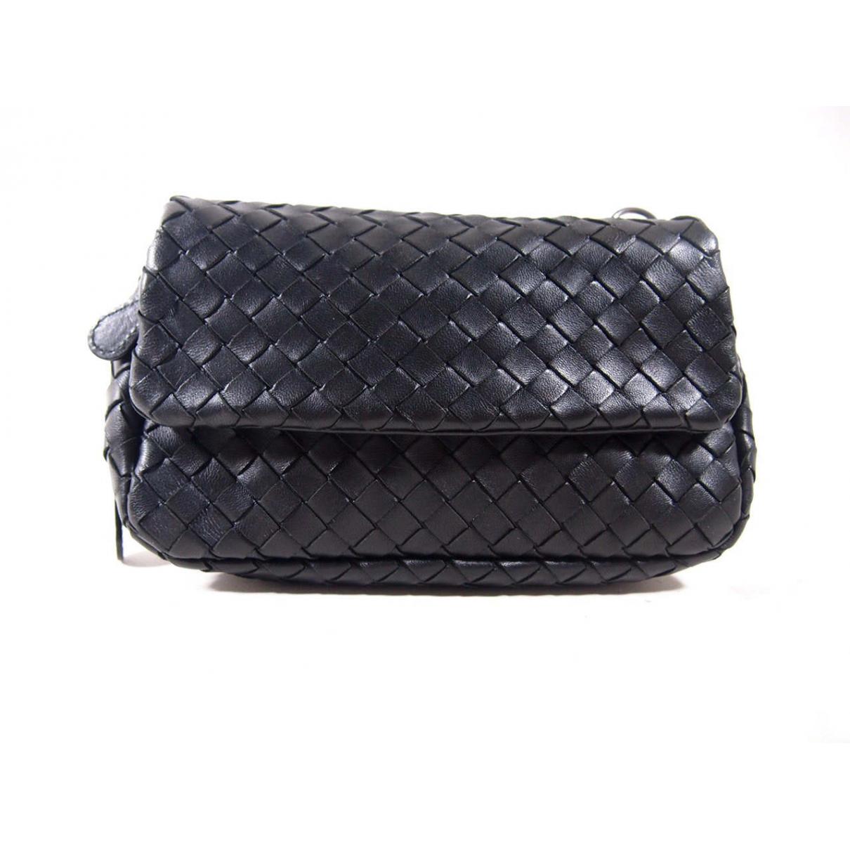 Bottega Veneta \N Black Leather handbag for Women \N