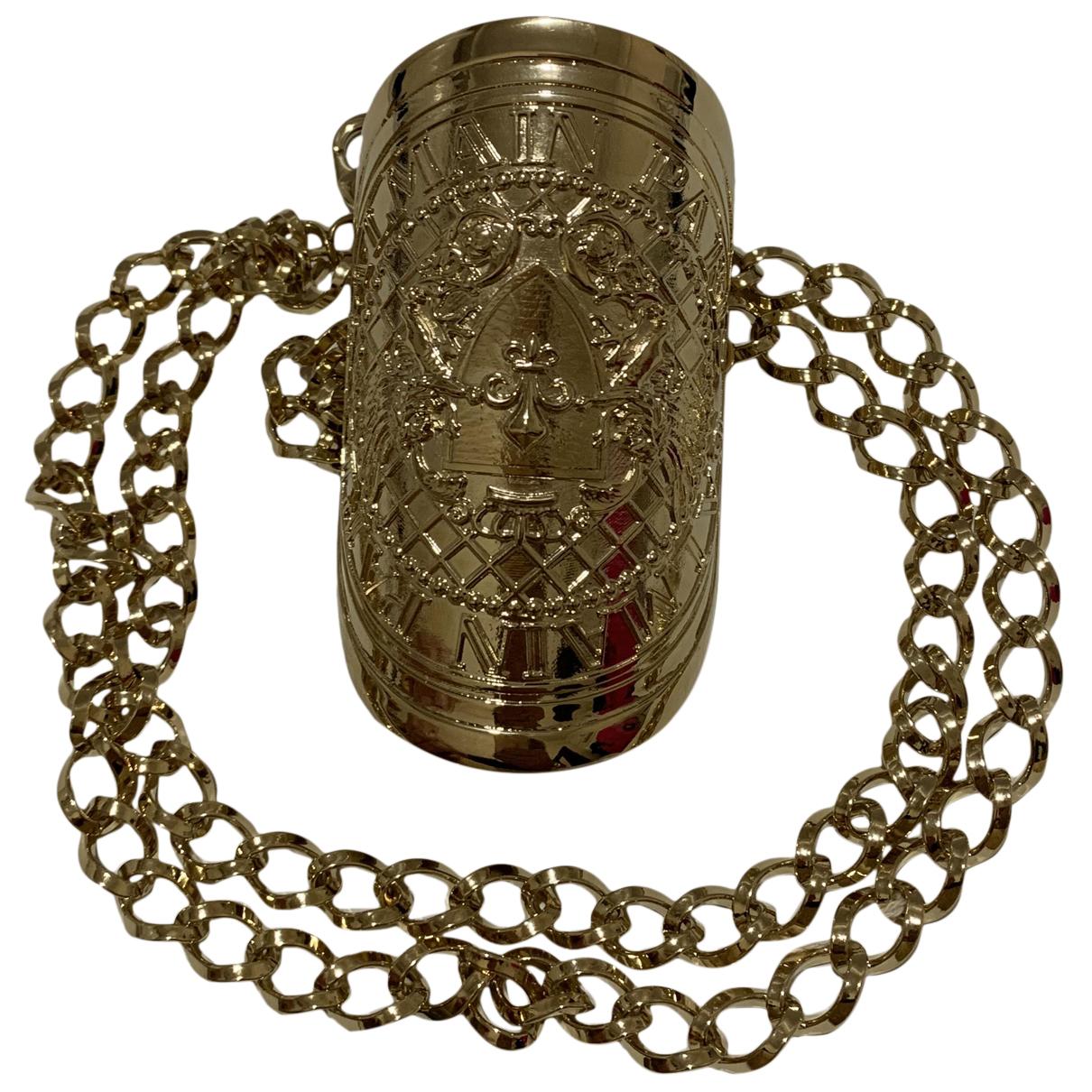 Balmain - Bracelet   pour femme en plaque or - dore