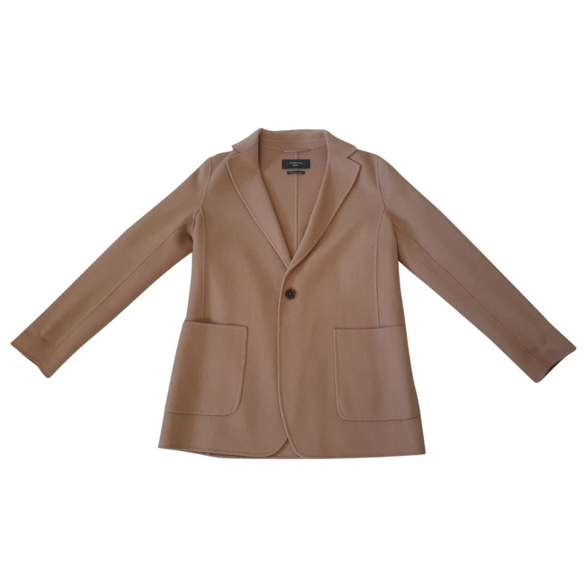 Max Mara Weekend \N Camel Wool jacket for Women 42 FR