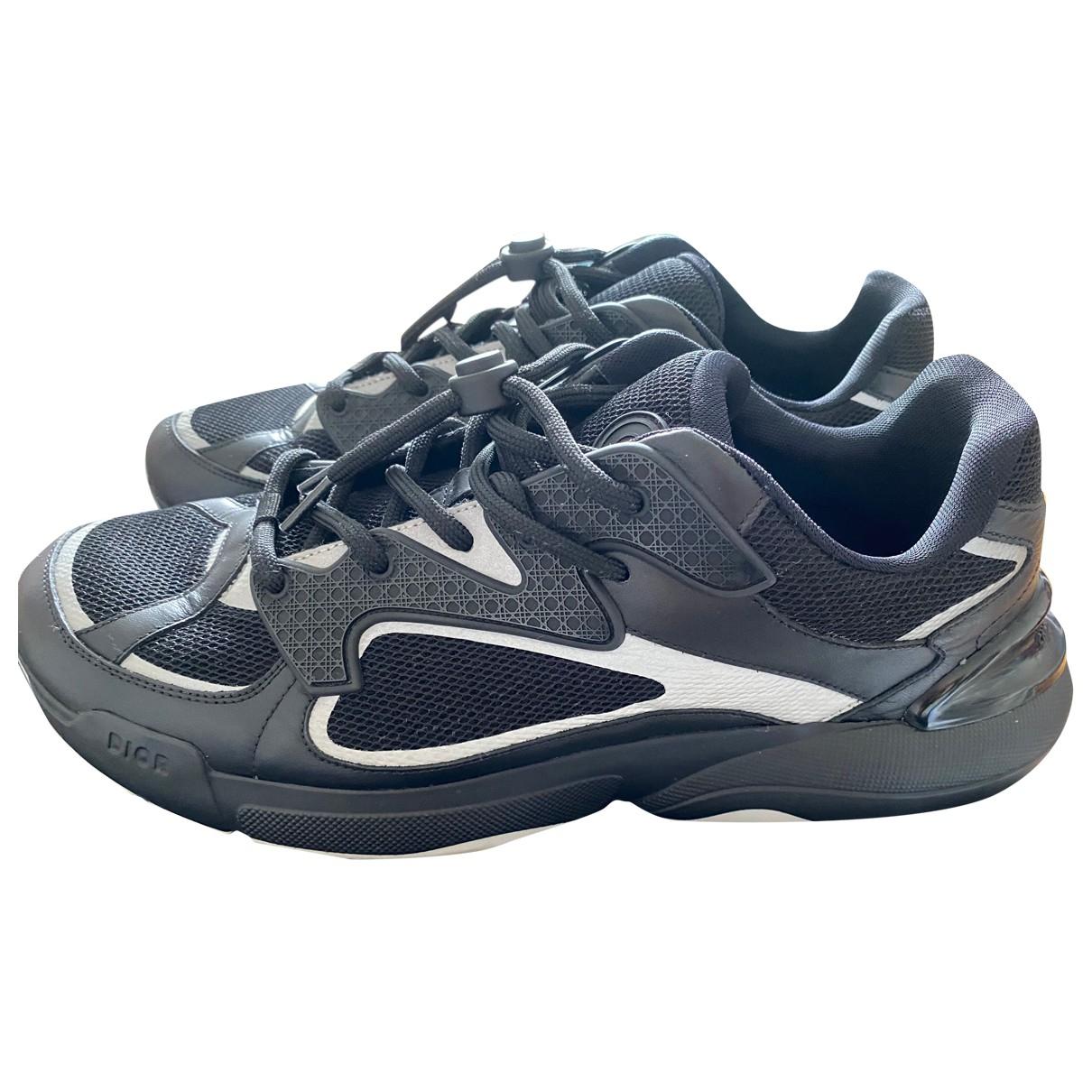 Dior \N Sneakers in  Schwarz Leder