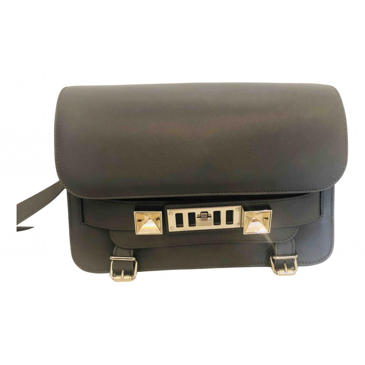 Proenza Schouler PS11 Grey Leather handbag for Women \N