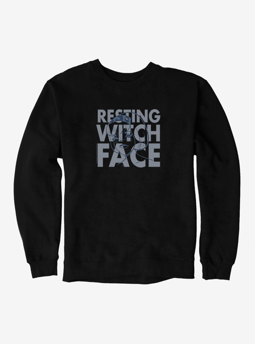 Archie Comics Chilling Adventures of Sabrina Resting Witch Face Sweatshirt